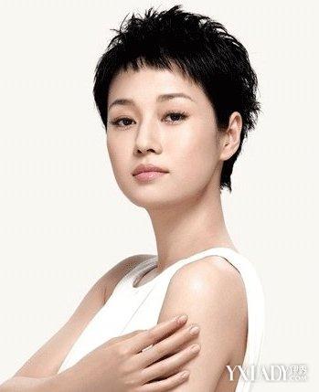 马伊琍最新发型图片展示图片
