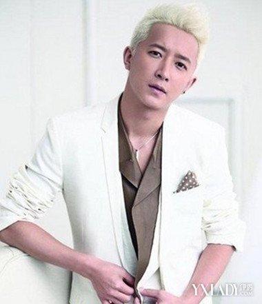 【图】白头发男头发型 时尚银白色头发发型让你变身另类范图片