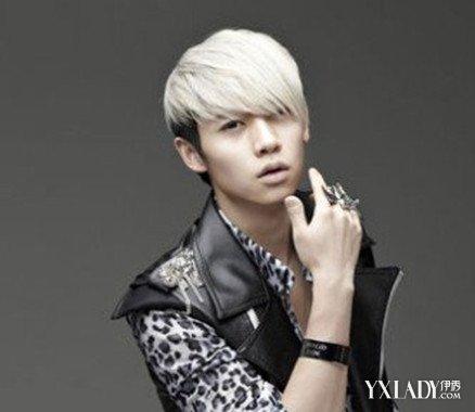 白头发男头发型 时尚银白色头发发型让你变身另类范图片