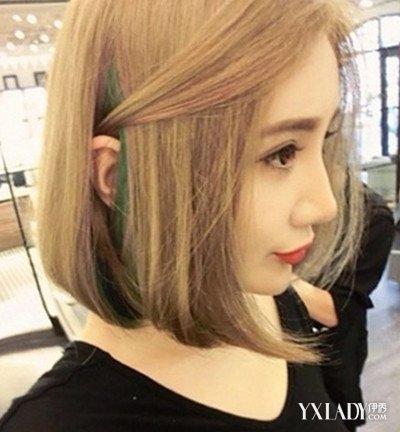 韩国齐肩短发发型图片展示 四款发型的魅力势不可挡