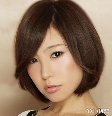【图】韩范短发侧脸女生图片 短发也迷人性感
