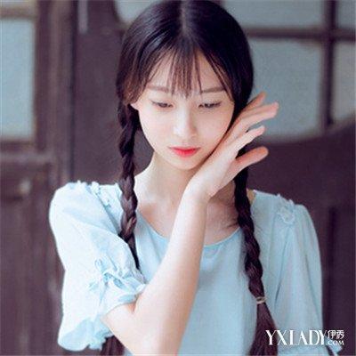【图】图片披发编发女性让长发温婉a图片一见朝鲜族流头节发型图片