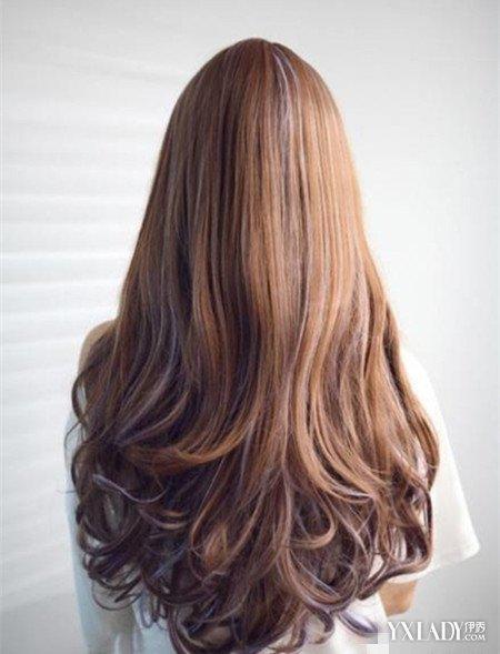 【图】女生长发卷发背面图 几款发型凸显你个人魅力