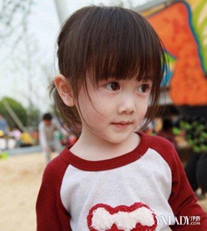 【图】好看的女婴儿发型发型甜美清爽惹人爱发型显脸小中长发图片图片