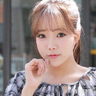 【图】韩式头发帘发型 修颜减龄时尚可人图片