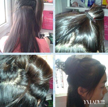 【图】美丽汉服发型的简单扎法 学会的话就可以穿汉服
