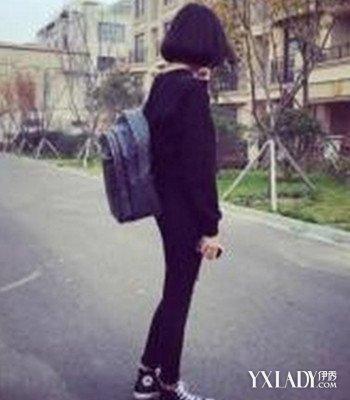 【图】清纯短发背影图 剖析短发女生的特性