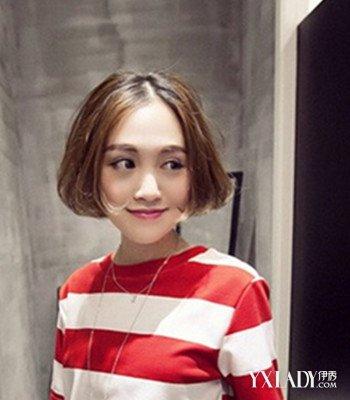 【图】韩式发型烫发内扣短发最适合a发型MM的简单扎发儿童图片