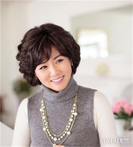 【图】五十岁女人发型短发推荐 清爽又显温婉气质图片