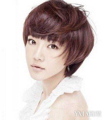 超短短发女生发型图片展示图片