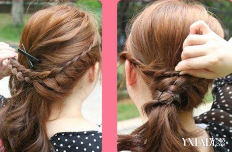 【图】短发蜈蚣辫编发图解 精心制造喜爱发型