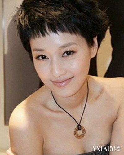 【图】长脸女明星短发发型图片 四款发型令你不再烦恼图片