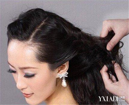 【图】简单新娘敬酒发型步骤图解