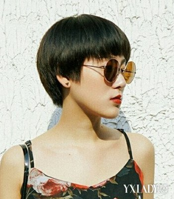 【图】风格帅气齐耳短发发型女4款不同时尚任2019染烫新发型短发图片