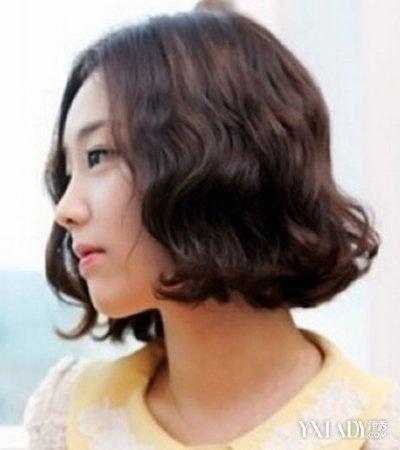 【图】韩国短发泡面卷发型图片介绍图片
