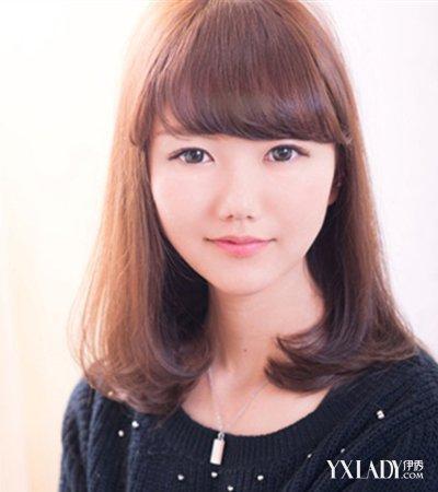 【图】韩版中长发微卷发型图片介绍 修颜显瘦华丽变身