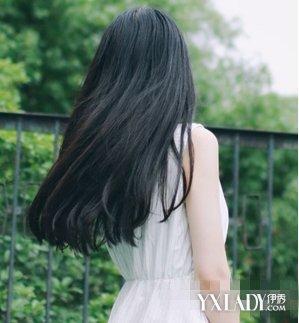 【图】长直发发型背影图片展示