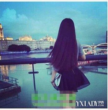 长直发发型背影图片展示 揭秘长发美女的背影秘密