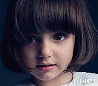 小女孩比较潮的短发发型 打造可爱萌娃