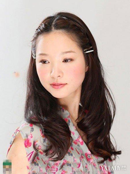 【图】韩式齐刘海编发大全教程四款头型让你赵薇烫发发型图片