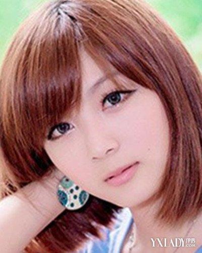 【图】短发女生大头大脸的图片 4款短发显瘦显年轻图片