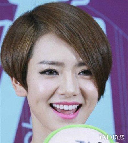 戚薇一半长一半短发型图片 几款发型让你气质倍增