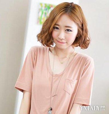 【图】短发发型烫发图片潮女 诠释盛夏韩式最新潮美发图片