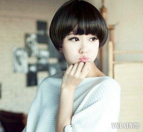 适合中学女生超短发型图片 4款潮流短发你心动了吗图片