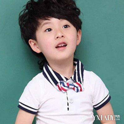 小男孩图片发型潮流颜色爱帅气化身短发小达人披肩发流行时尚图片