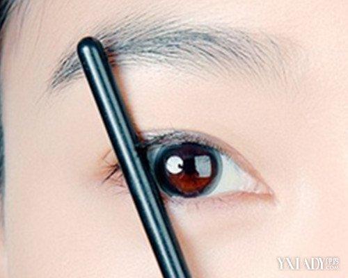好看的画眉毛技巧图解 6个步骤让你看起来精神抖擞图片