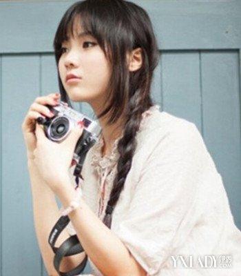 【图】日系女生森系头像长发