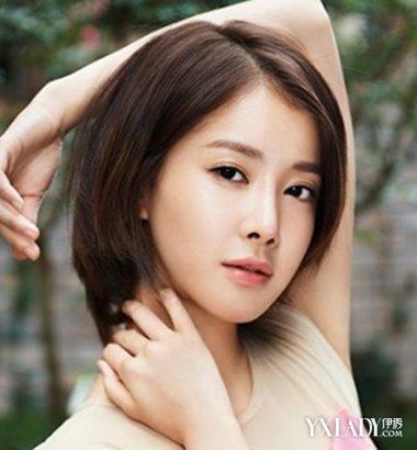 【图】韩式短发女生头像侧脸发型 时尚韩系短发女生教