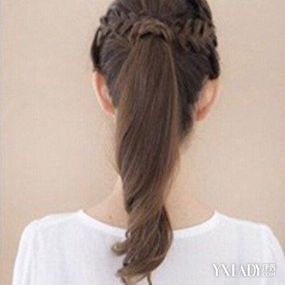 【图】女孩编发发型扎法图解教程简单大全轻盘头发和短头发司机老学生图片