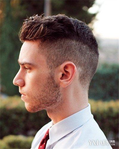 后脑勺的发型男图片欣赏 4种类型让你选择佳款式图片