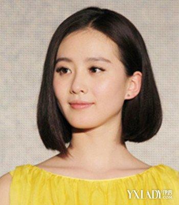 【图】黑直超短发短发明星女v短发打造a短发淑图片发型齐发图片