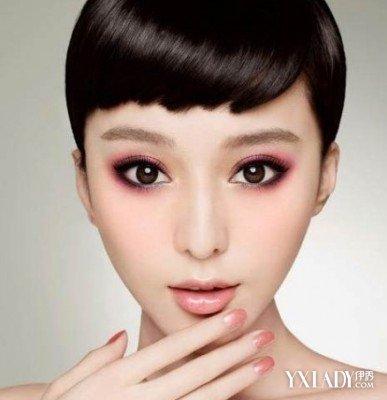 【图】脸型眉形图搭配