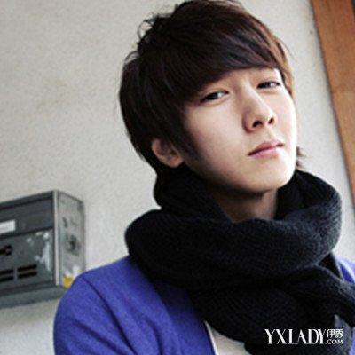 韩国男生流行短发发型图片