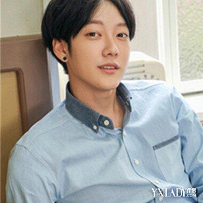 【图】韩式中分男发型