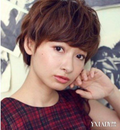 韩式短发烫发潮女分享展示图片