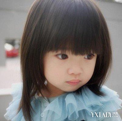 女宝宝蘑菇头短发发型图片(4)