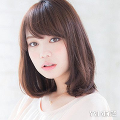 国字脸齐肩短发发型 时尚展现东方魅力图片
