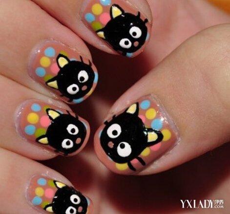 【图】可爱动物美甲图案推荐 指尖上的小动物美翻你