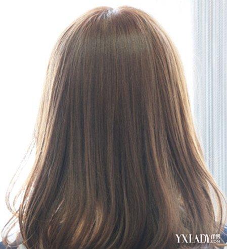 【图】中长发内扣发型背影图片 背影杀手你值得拥有