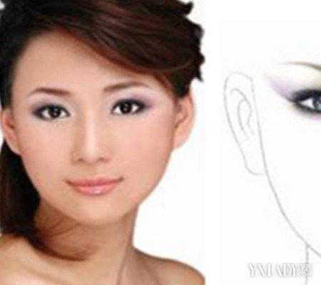 化妆素描眉毛画法介绍 2大步骤教你素描画眉图片
