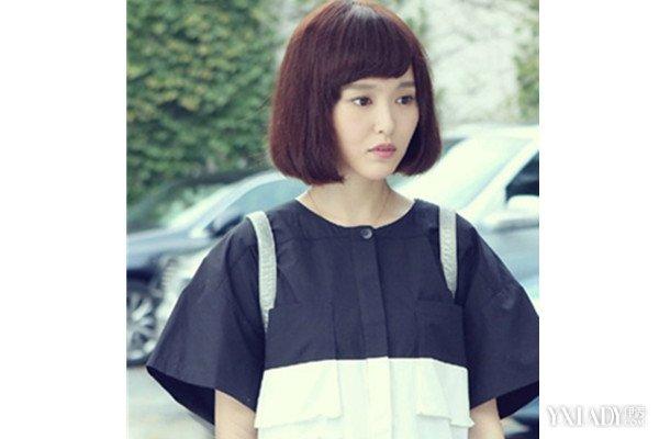 【图】唐嫣赵默笙短发发型评点图片
