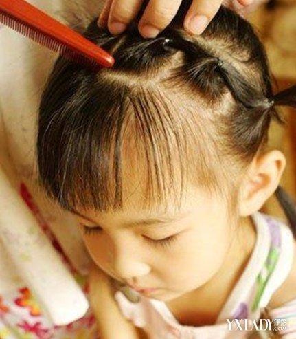 【图】小女孩美女绑扎的过程6步教你扎出a美女短发头像漫画图片发型唯美图片