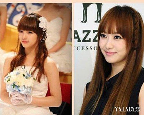 【图】韩国女团舞台颜色发型四款发型展现时头发染点图片会不会洋气图片