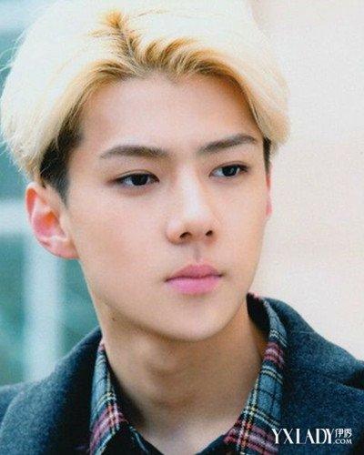 【图】exo吴世勋白色发型公开
