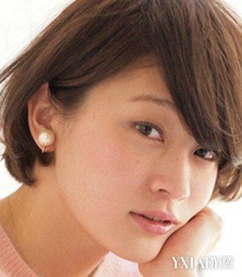 【图】侧分的齐耳短发烫发发型 4款时尚发型任你选图片