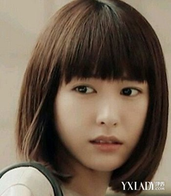 【图】编发长脸的齐肩短发爱心修颜减龄首选小女孩发型儿童适合视频图片